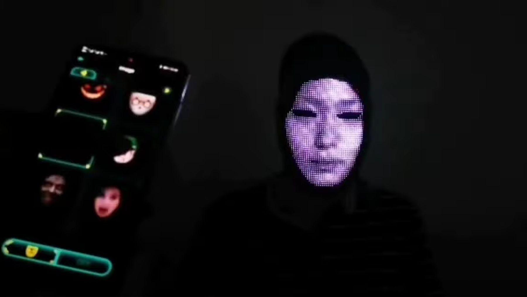 Eine fully customizable LED-Maske | Gadgets | Was is hier eigentlich los?