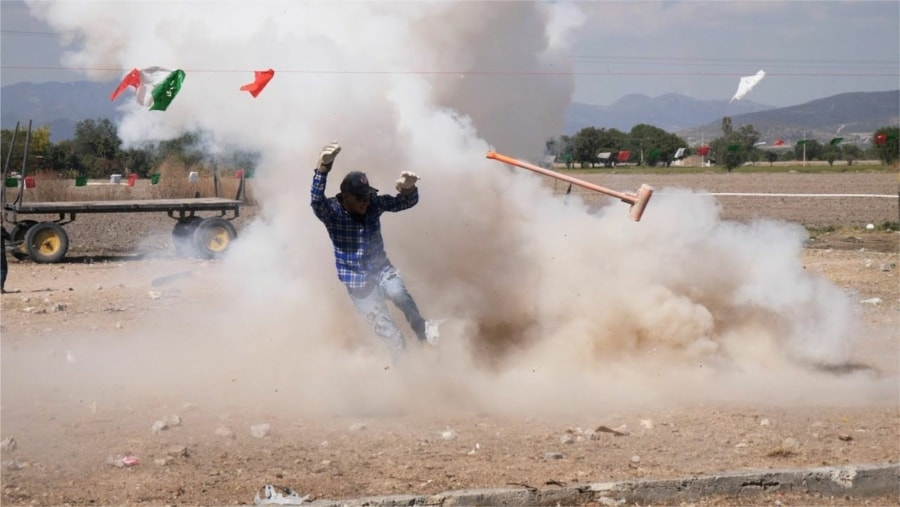 Das Exploding-Hammer-Festival in Mexico | WTF | Was is hier eigentlich los?