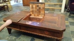 David Lundell baut coole Tische mit versteckten Fächern | Handwerk | Was is hier eigentlich los?