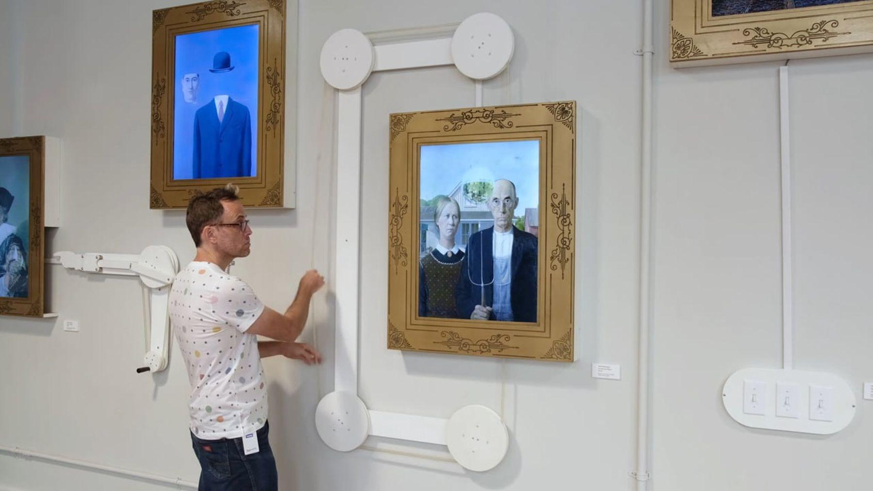 Interaktive Gemälde in einem Museum für Kinder | Design/Kunst | Was is hier eigentlich los?