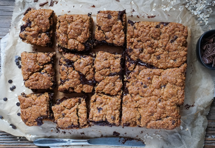 Line backt Haferflocken-Kuchen mit Schokoladen-Espresso-Füllung | Line backt | Was is hier eigentlich los?