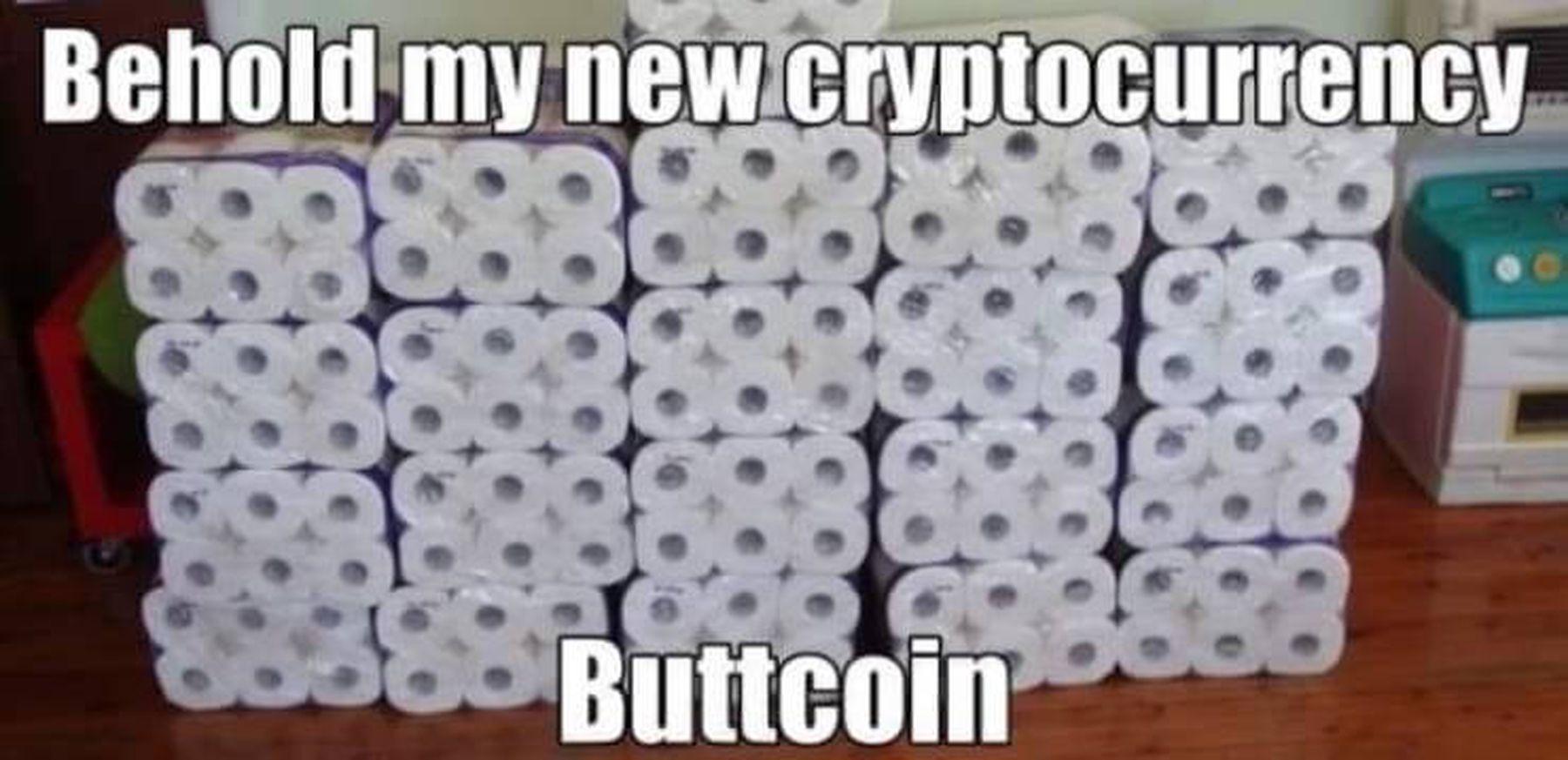 Beste Kryptowährung weiterhin: Buttcoin | Lustiges | Was is hier eigentlich los?