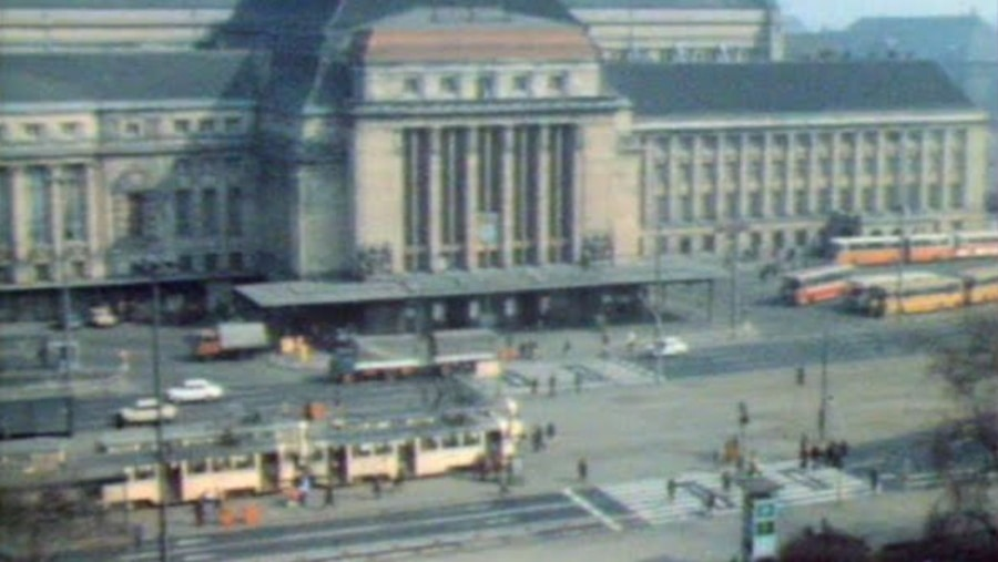 Der Leipziger Hauptbahnhof zu DDR-Zeiten | Zeitgeschichte | Was is hier eigentlich los?
