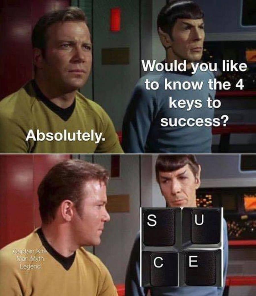Die 4 Keys zum Erfolg | Lustiges | Was is hier eigentlich los?