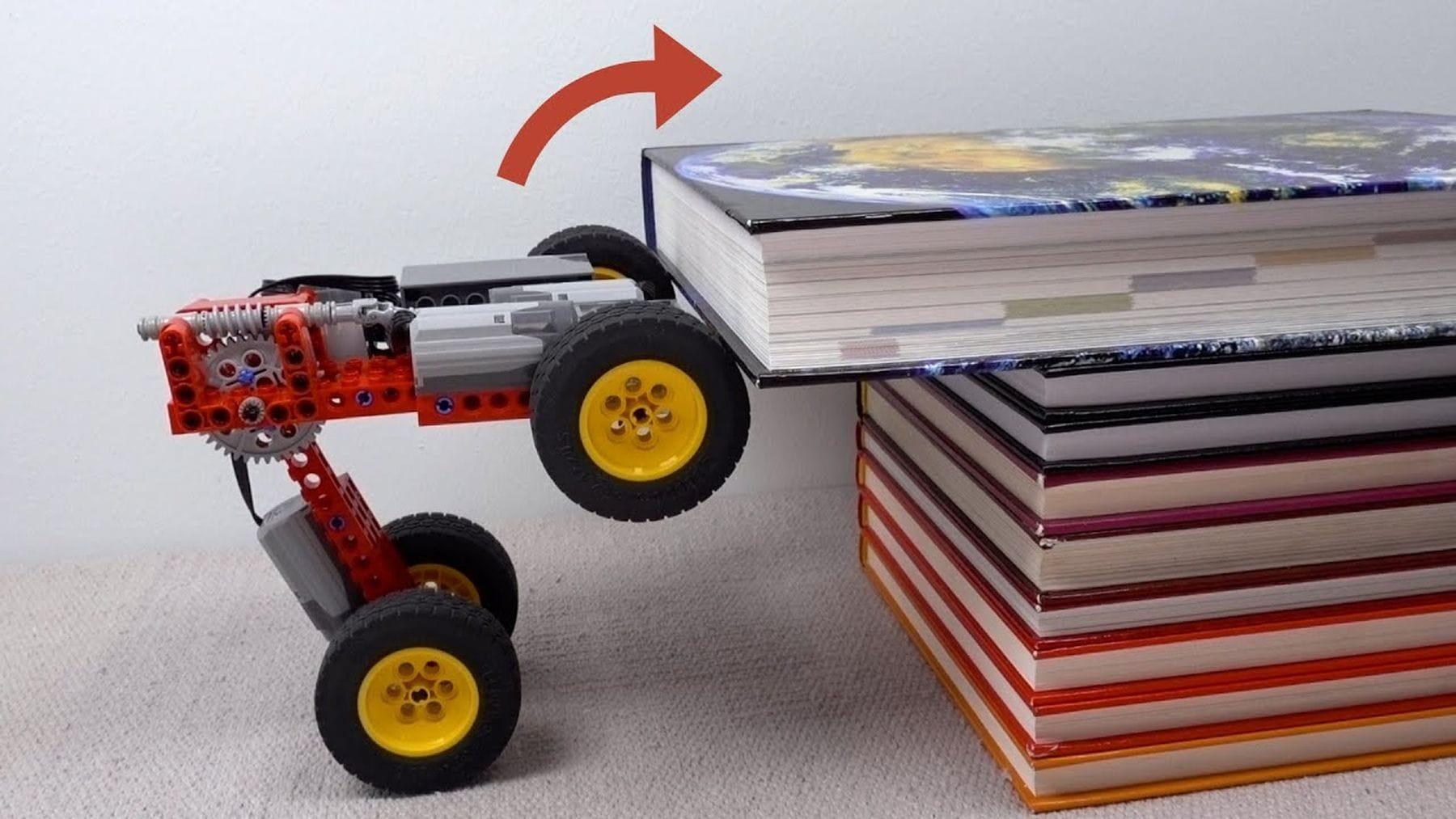 Ein Lego-Auto, dass nahezu alles erklimmen kann | Gadgets | Was is hier eigentlich los?