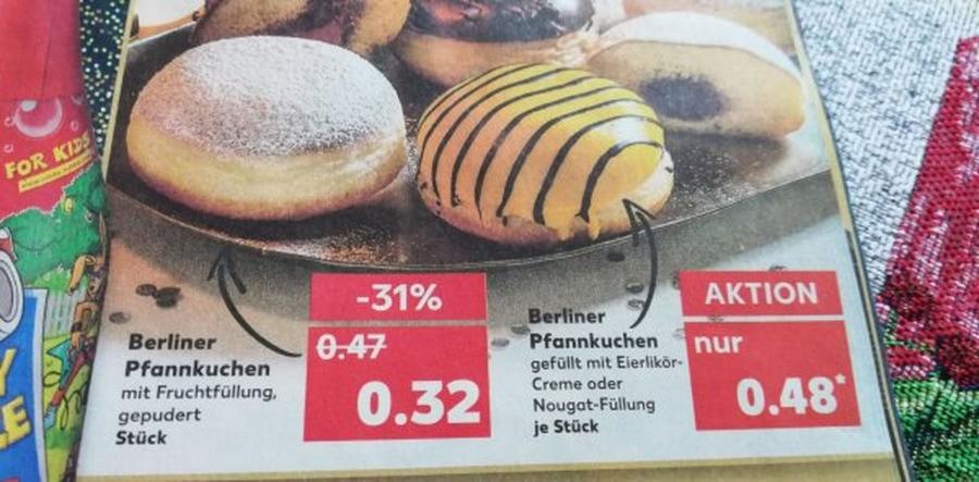 Endlich gelöst: Berliner oder Pfannkuchen | Lustiges | Was is hier eigentlich los?
