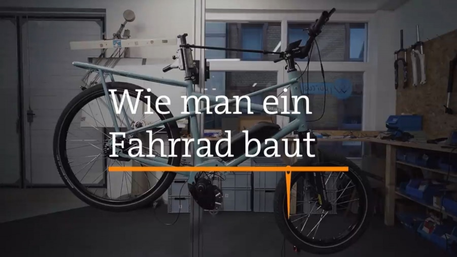 Wie man ein Fahrrad von Hand baut | Handwerk | Was is hier eigentlich los?