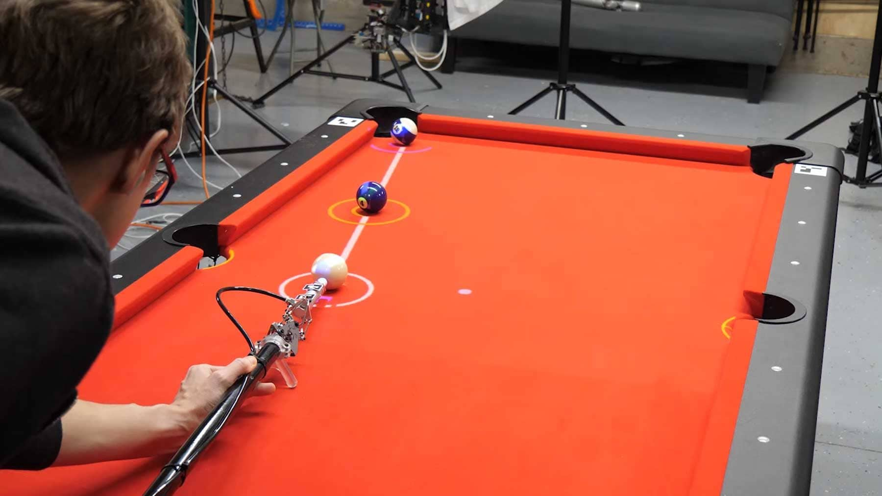 Ein intelligenter Billard-Queue | Gadgets | Was is hier eigentlich los?