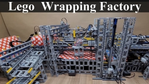 Eine LEGO-Geschenke-Einpack-Maschine | Gadgets | Was is hier eigentlich los?