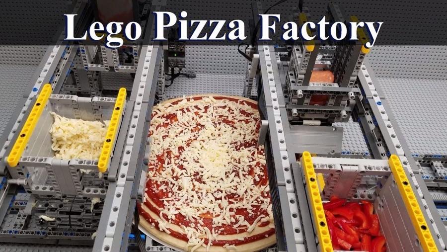 Eine Pizza-Maschine aus LEGO | Gadgets | Was is hier eigentlich los?