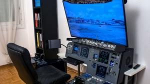 Homeoffice eines Piloten | Lustiges | Was is hier eigentlich los?
