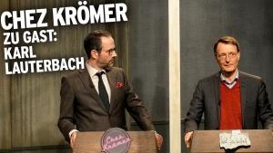 Karl Lauterbach zu Gast bei Chez Krömer | Lustiges | Was is hier eigentlich los?