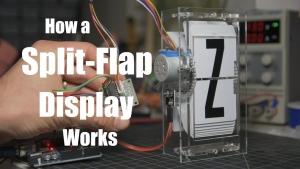 Die feinen Details eines Klappzahlendisplays (Split-Flap Display) | Gadgets | Was is hier eigentlich los?