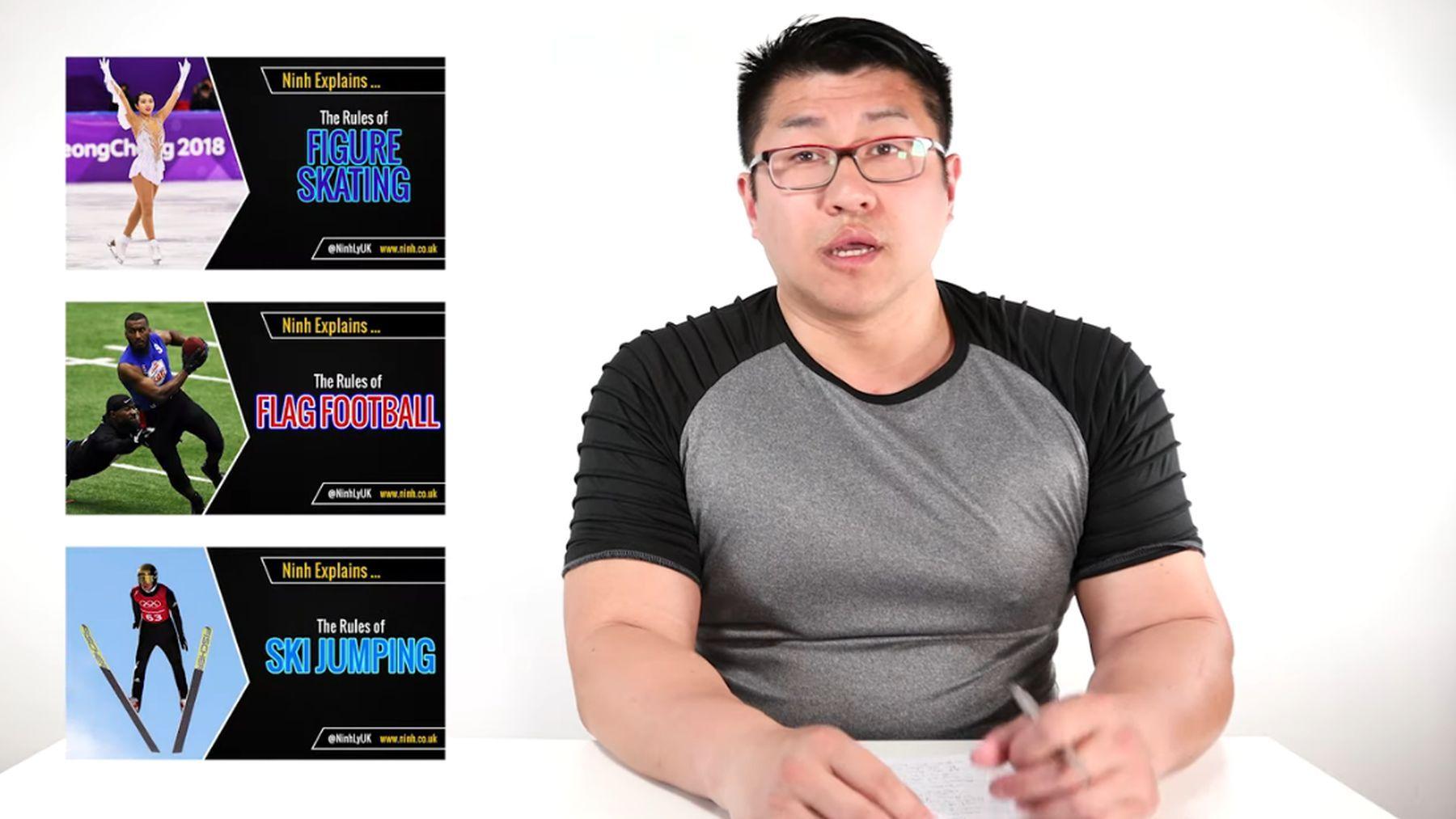 Ein YouTube-Kanal, der alle möglichen Sport-Arten erklärt | Was gelernt | Was is hier eigentlich los?
