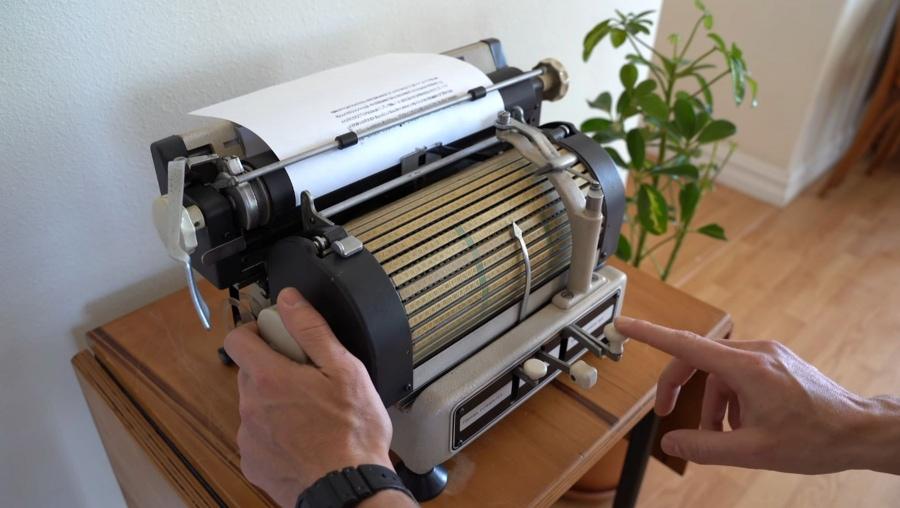 Eine japanische Schreibmaschine | Gadgets | Was is hier eigentlich los?
