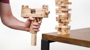 Eine Jenga-Pistole | Gadgets | Was is hier eigentlich los?