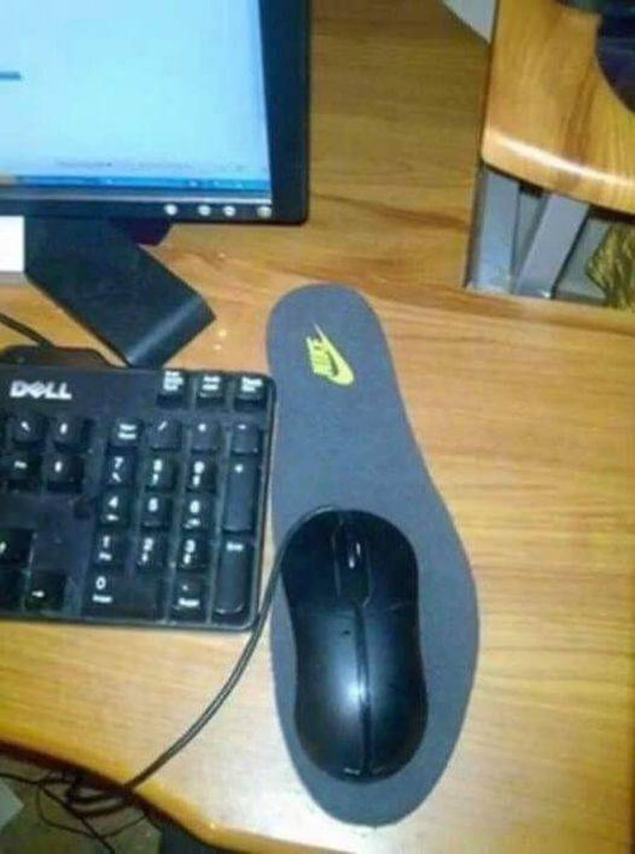 Geil: Endlich Mouse-Pads von Nike | Lustiges | Was is hier eigentlich los?