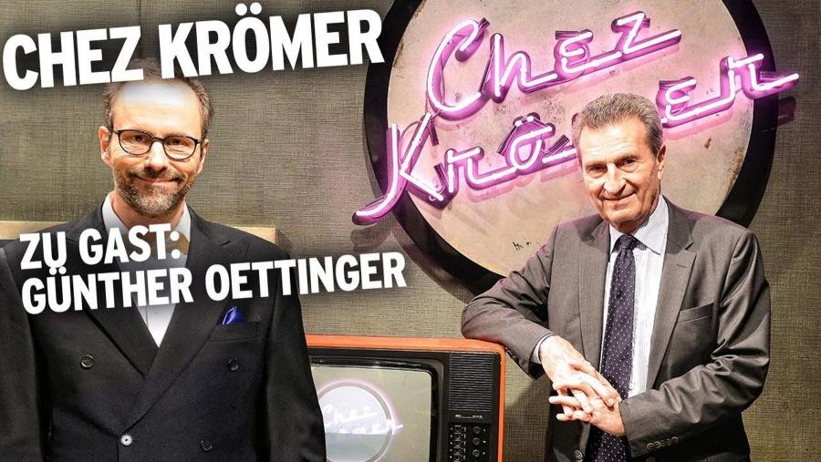 Günther Oettinger zu Gast bei Chez Krömer | Kino/TV | Was is hier eigentlich los?