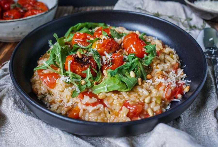 Line kocht Risotto mit ofengerösteten Tomaten | Line kocht | Was is hier eigentlich los?