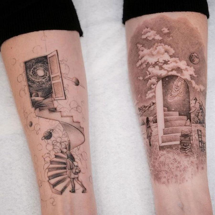 Die unfassbar detaillierten Tattoos von Eva Karabudak | Design/Kunst | Was is hier eigentlich los?