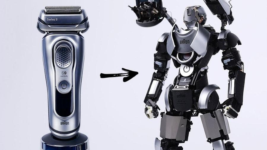Ein elektrischer Rasierer als Transformer | Gadgets | Was is hier eigentlich los?