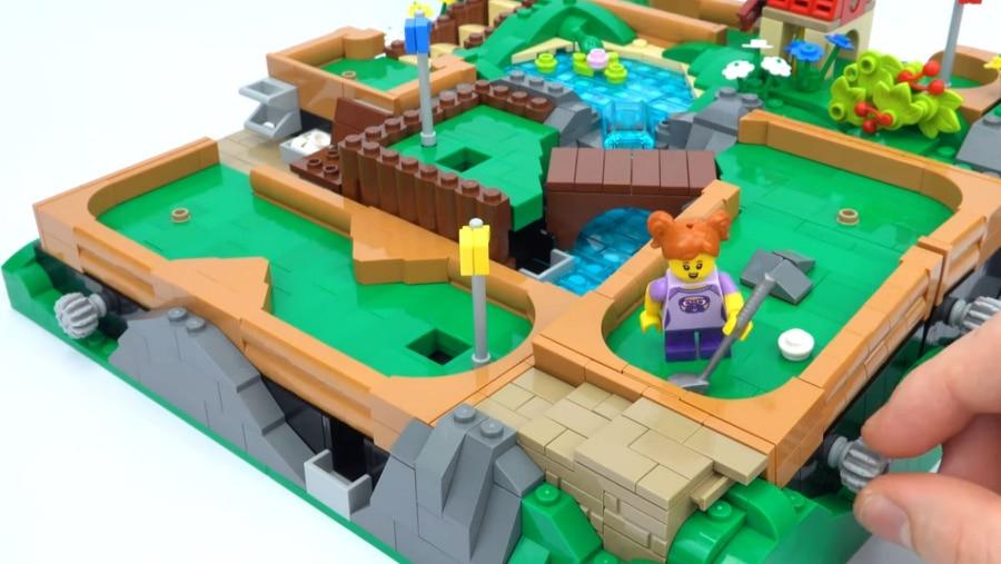 Ein spielbarer Minigolf-Platz aus LEGO | Gadgets | Was is hier eigentlich los?