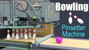 Wie eine Bowling-Kegelsetzmaschine funktioniert | Was gelernt | Was is hier eigentlich los?
