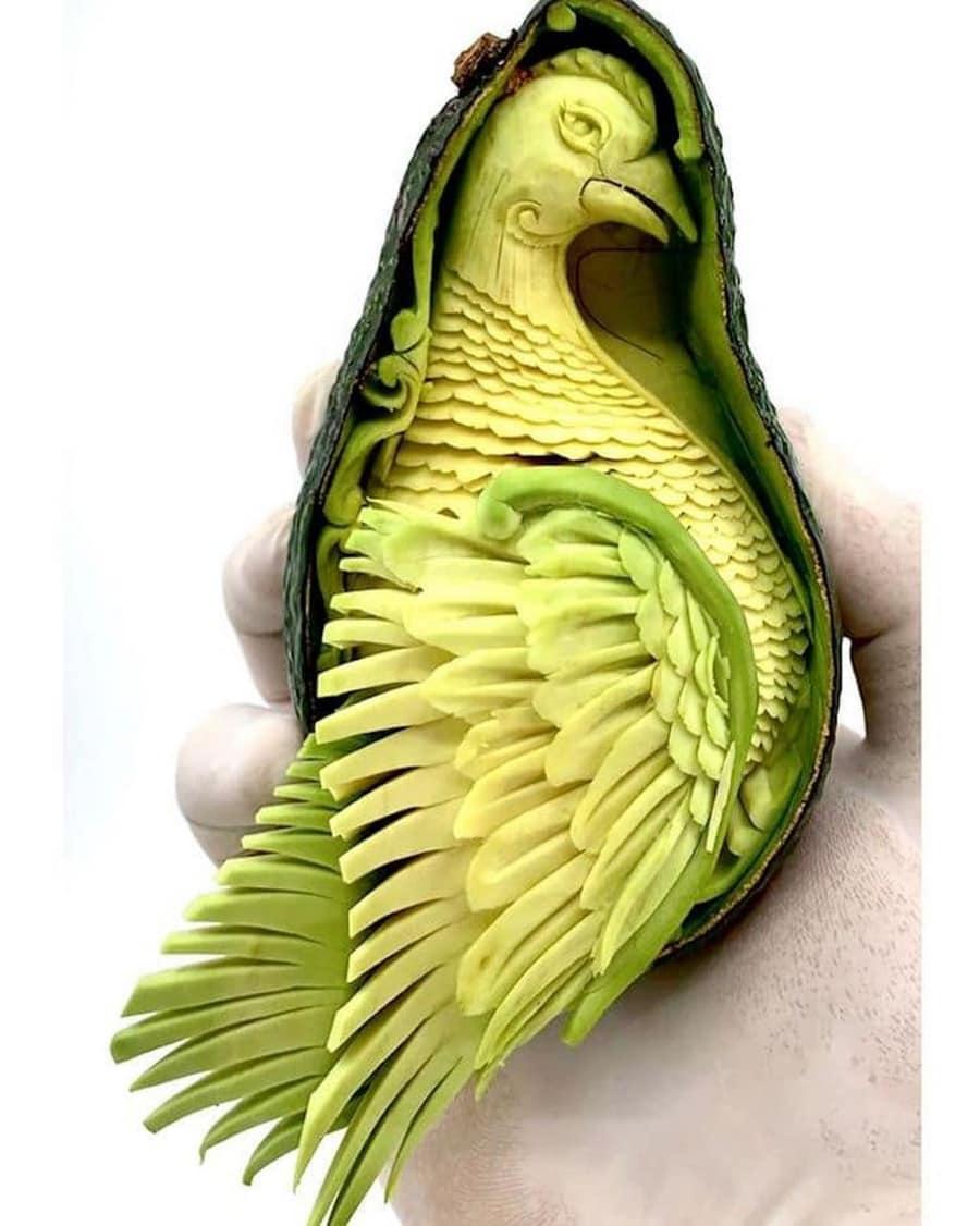 Beeindruckende Avocado-Schnitzereien von Daniele Barresi   Design/Kunst   Was is hier eigentlich los?