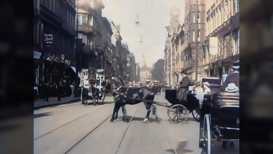 Berlin 1910 in Farbe | Zeitgeschichte | Was is hier eigentlich los?
