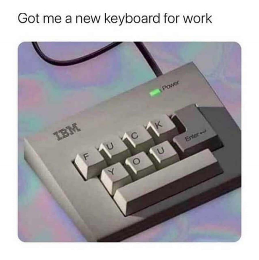 Die einzige Tastatur, die man braucht | Lustiges | Was is hier eigentlich los?