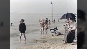 Ein Tag am Strand 1899 | Zeitgeschichte | Was is hier eigentlich los?