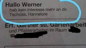 Hoffe, Werner kommt einigermaßen klar | Lustiges | Was is hier eigentlich los?