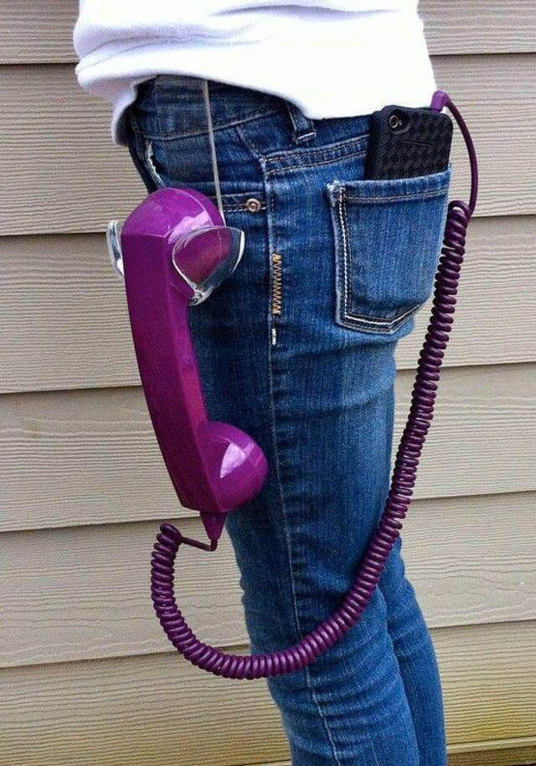 Noch cooler als sein Handy am Gürtel zu tragen ...   Lustiges   Was is hier eigentlich los?