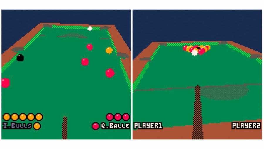 3D-Pool in 128 x 128 Pixel spielen | Games | Was is hier eigentlich los?