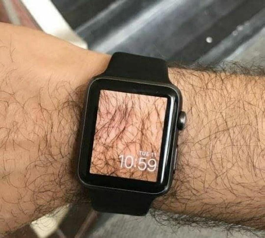 Perfektes Hintergrundbild für die Smartwatch | Lustiges | Was is hier eigentlich los?