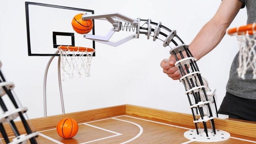 Roboter-Arme zum Basketball-Spielen   Awesome   Was is hier eigentlich los?