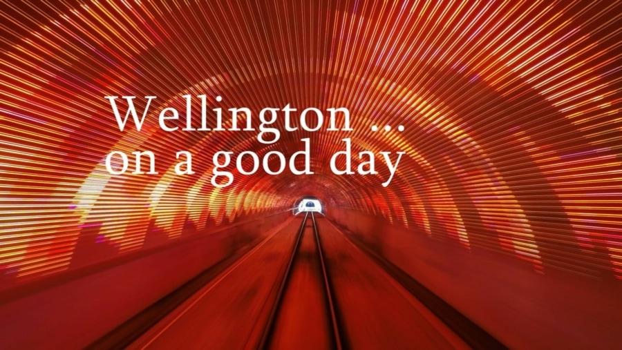 Wellington ... in a good day | Travel | Was is hier eigentlich los?