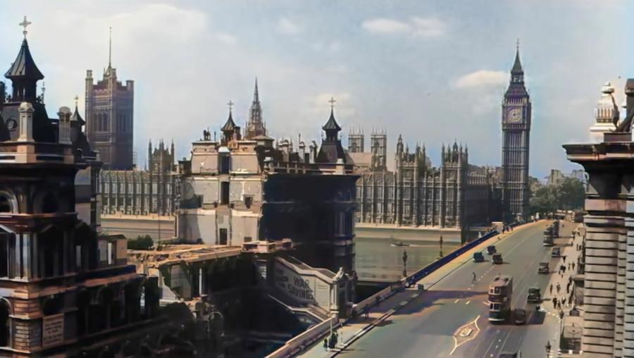 London während des 2. Weltkriegs in Farbe | Zeitgeschichte | Was is hier eigentlich los?