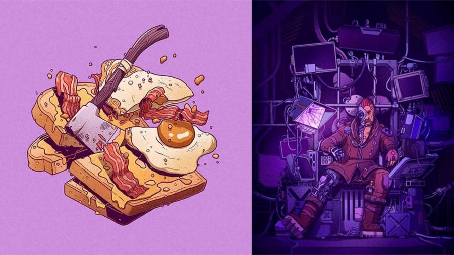 Tolle Illustrationen von Stefan Große Halbuer | Design/Kunst | Was is hier eigentlich los?