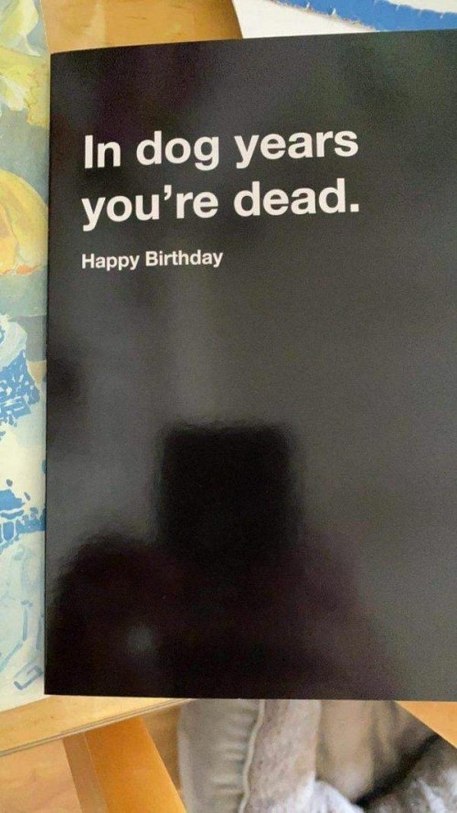 Beste Geburtstagskarte ever | Lustiges | Was is hier eigentlich los?