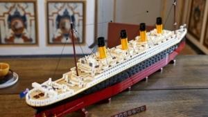 Das aktuell größte LEGO-Modell: Die Titanic | Gadgets | Was is hier eigentlich los?