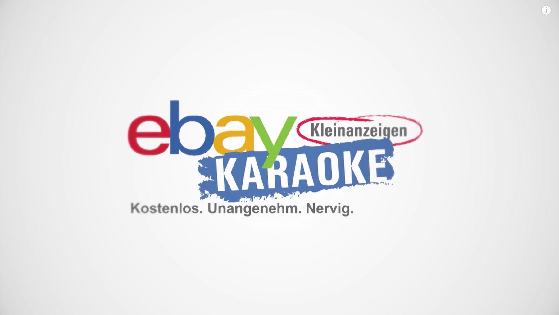 ebay Kleinanzeigen Karaoke mit Jan Georg Schütte und Bjarne Mädel   Lustiges   Was is hier eigentlich los?