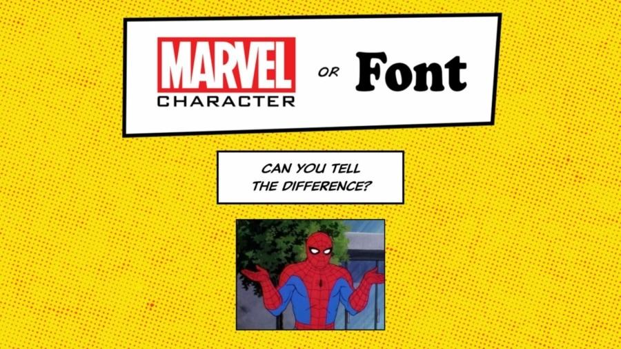 Marvel Charakter oder Schriftart | Games | Was is hier eigentlich los?