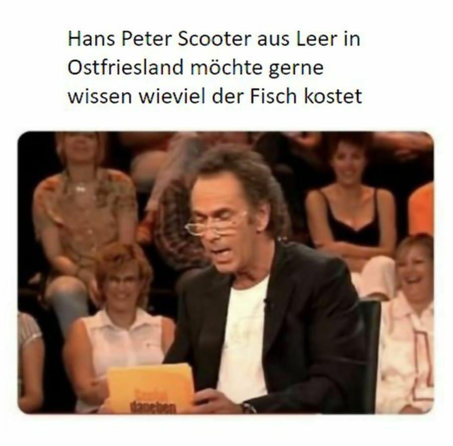 Wäre schön, wenn jemand Hans Peter Scooter helfen kann | Lustiges | Was is hier eigentlich los?