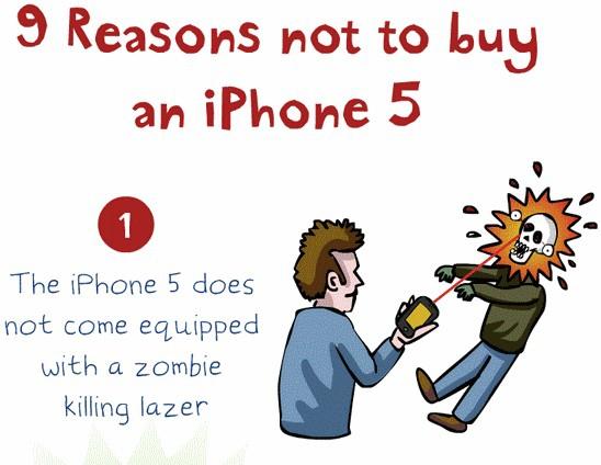 Warum ich mir definitiv, ganz bestimmt, also eigentlich, vielleicht kein iPhone 5 kaufen werde | Lustiges | Was is hier eigentlich los? | wihel.de