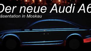 Der Audi A6 als 3D-Leinwand | Awesome | Was is hier eigentlich los? | wihel.de