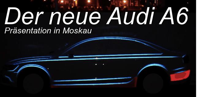Der Audi A6 als 3D-Leinwand | Awesome | Was is hier eigentlich los?