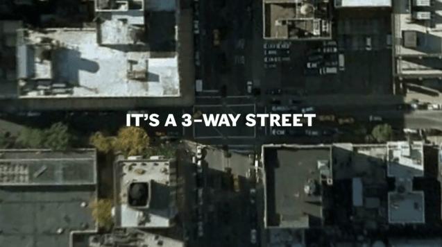 Die New Yorker aufm Rad