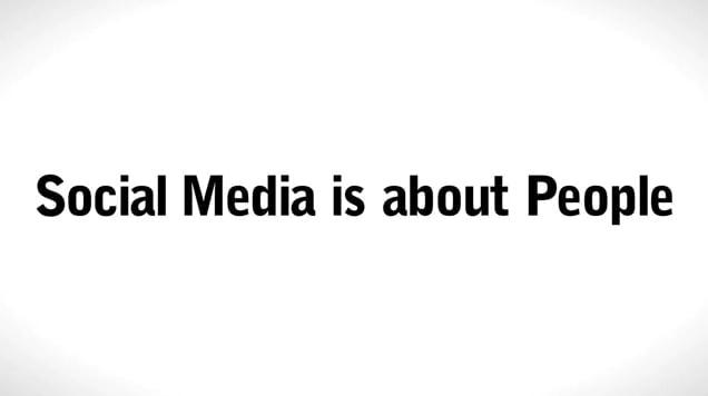 Social Media hier und da und dort und überall