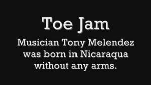 Tony Melendez spielt Gitarre mit seinen Füßen | Musik | Was is hier eigentlich los? | wihel.de